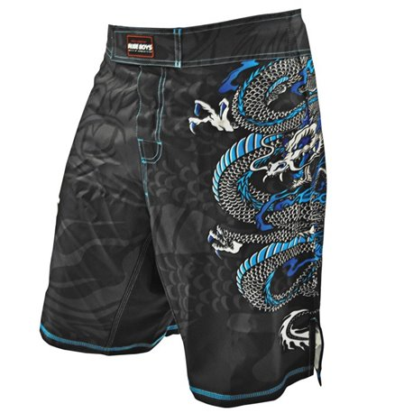 Pantalones Cortos MMA SHORTS Fight Bermudas RUDE BOYS DRAGON