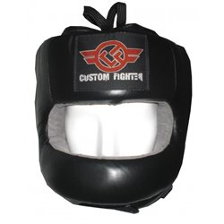 Casco de Boxeo con Barra Frontal CUSTOM FIGHTER - Envío Gratis
