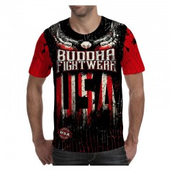 Camiseta TShirt BUDDHA Liberty Fighter