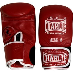 Boxing Bag Training Gloves and Fitness CHARLIE MONK