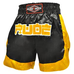 Pantalones Cortos Muay Thai Shorts K1 RUDE BOYS STAR