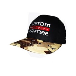 GORRA Visera CUSTOM FIGHTER LUX