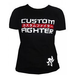 Camiseta Chica TShirt Girl CUSTOM FIGHTER