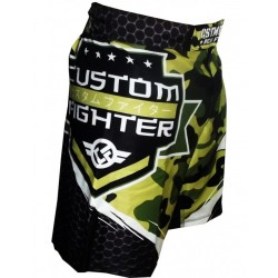MMA Shorts BERMUDAS CUSTOM FIGHTER ARMY