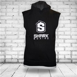 Hoodie no Sleeves SHARK BOXING PONCHO