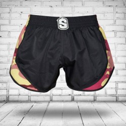 Pantalones Cortos Muay Thai Shorts K1 SHARK WARRIOR 1