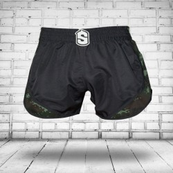 Pantalones Cortos Muay Thai Shorts K1 SHARK WARRIOR 2