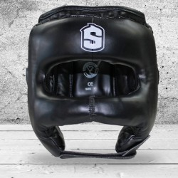 Boxing Head Guard with Front BAR SHARK BOXING JAPAN