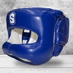 Casco de Boxeo con Barra Frontal SHARK BOXING IRON MAN
