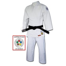 Judogi NORIS-SFJAM Excellence Competition Judokas IJF Approved White