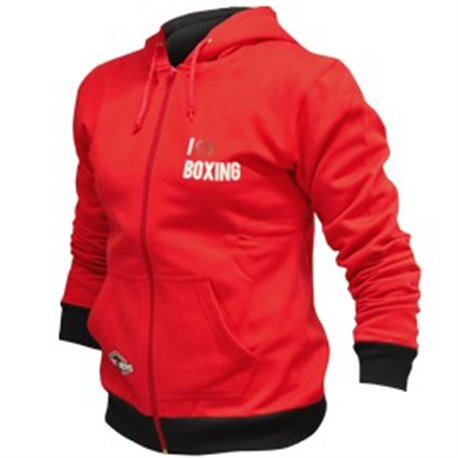 Ladies Hoody RUDE BOYS LOVE BOXING