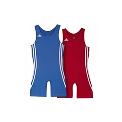 Wrestling Tights ADIDAS Kids 2 Units Red and Blue