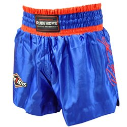 Pantalones Cortos Muay Thai Shorts K1 RUDE BOYS SIGNATURE