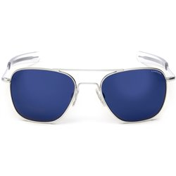 Randolph Sunglasses Pilot Aviator White Gold 23K Lensses 55mm
