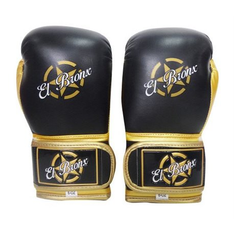 Training Boxing Gloves EL BRONX GOLD COLLECTION