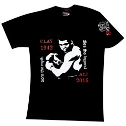 Camiseta TShirt CHARLIE ALI MOHAMMED Cassius Clay