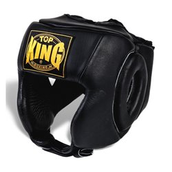 Casco de Boxeo Muay Thai Competición Top King OPEN CHIN